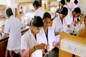 Well-equipped Laboratory